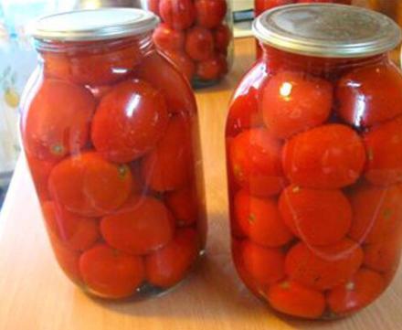Соленые помидоры с корицей