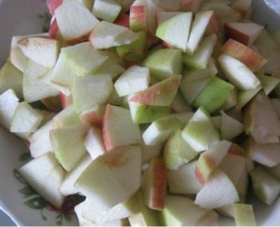 Шарлотка с яблоками в мультиварке температура
