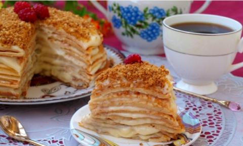 Как испечь блинный торт в домашних условиях