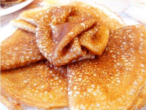 Постные блины на дрожжах - рецепты с фото пошагово: тонкие и толстые