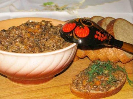 Грибная икра из опят на зиму через мясорубку. Рецепты вкусной икры из опят