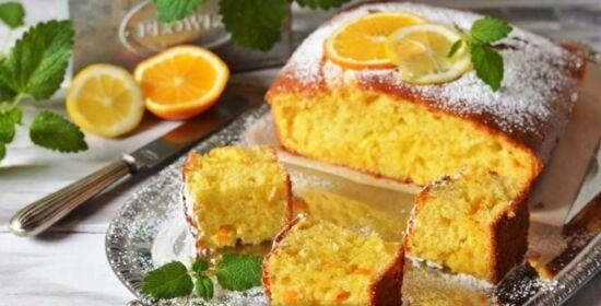 Быстрый пирог с апельсинами - пошаговый рецепт с фото на Повар.ру