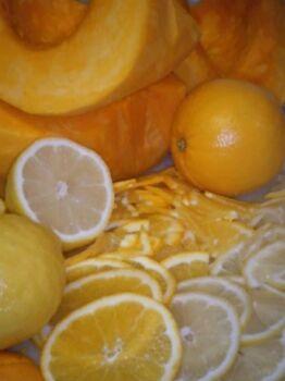 Варенье из тыквы с лимоном без варки