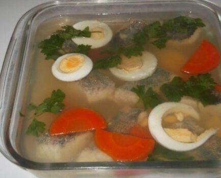 Рыба заливная. Секреты приготовления - рецепт Еда Во Благо
