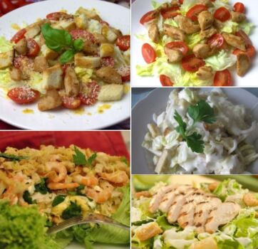 Салат «Цезарь» с курицей. 9 простых рецептов в домашних условиях